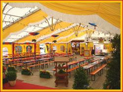 Festzelt for Festzelt dekoration